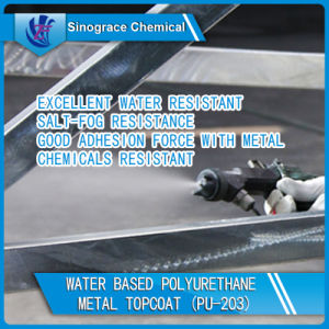Water Based Polyurethane Dispersion Metal Topcoat pictures & photos