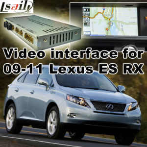 Car Video Interface for 2009-2011 Lexus Es Rx, Android Navigation Rear and 360 Panorama Optional pictures & photos