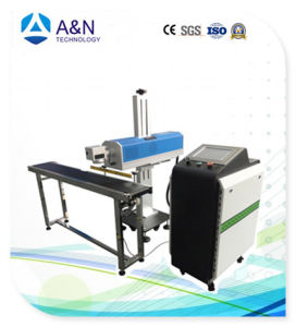 A&N 80W CO2 Flying Laser Marking Machine pictures & photos