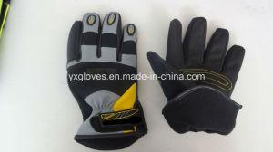 Winter Glove-Working Glove-Safety Glove-Industria Glove-Glove-Mechanic Glove-Leather Glove pictures & photos