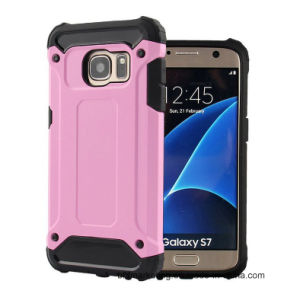 Hybrid Hard PC + Soft Silicone Combo Armor Mobile Cell Phone Case for Samsung Galaxy S7 S7 Edge pictures & photos