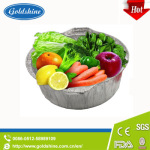 Aluminium Foil Food Containers with Lids pictures & photos
