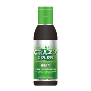 Tazol Cosmetic Ammonia Free Semi-Permanent Crazy Color Green 100ml pictures & photos