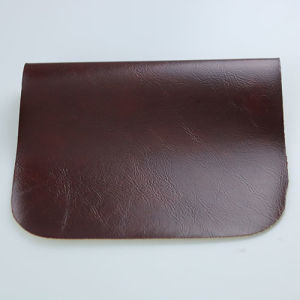 Claret Synthetic PU Leather for Furniture Furnishing Sofa pictures & photos