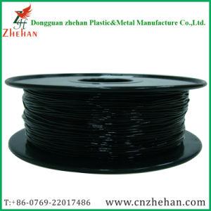 Black Color 1.75mm 0.8kg Flexible Plastic 3D Printer Filament pictures & photos