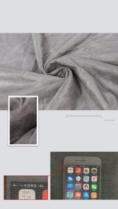 Scn002 Silver Coated Nylon Fabric pictures & photos