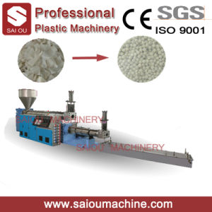 PP PE Material Hard Scraps Plastic Pellet Machine pictures & photos