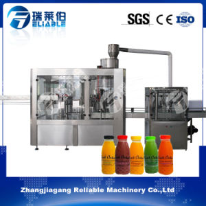 3 in 1 Orange Juice Automatic Bottle Filling Machine pictures & photos