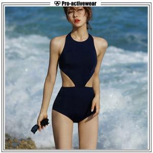 OEM Custom Superswim Women Sexy One-Piece Bikini Swimwear pictures & photos