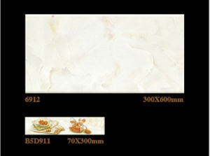 300X600mm Inkjet Rustic Glazed Interior Porcelain Wall Tile (6912) pictures & photos