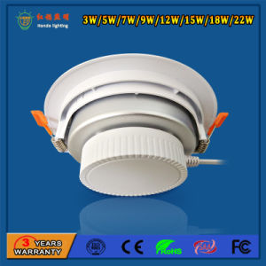 IP20 2700-6500k 7W Aluminum LED Downlight for Amusement Park pictures & photos