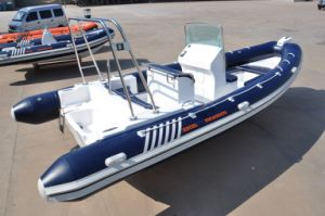 Experience Factory Hypalon Rib Boat with Outboard Motor pictures & photos