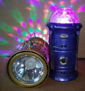 Solar LED Camping Lantern with Dance Lighting pictures & photos