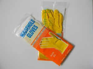 Waterproof Latex Glove for Home Cleaning Hand Protective pictures & photos