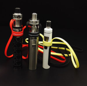 Colorful E Cigarette Universal Silicone Lanyard/EGO Lanyard Ring Clips/E Cig Lanyard for Vape pictures & photos