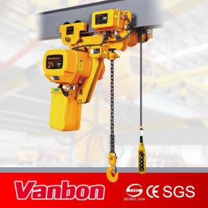 2ton Low Headroom Electric Chain Hoist, Dual Speed Hoist pictures & photos