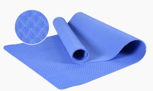 Pure TPE Yoga Mat for Sports pictures & photos