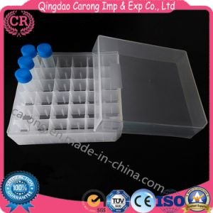 Transparent Lab Plastic Freezing Box pictures & photos