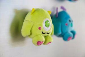Mini Plush Stuffed Toy Animal Custom Soft Toy Fridge Magnet pictures & photos