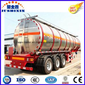 3 Axle 52cbm Aluminium Alloy Fuel Cargo Tanker Truck Semi Trailer pictures & photos