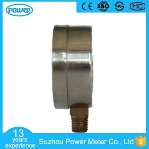 60mm Stainless Steel Case Bottom Type Manometer pictures & photos