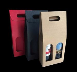 Flute Board Wine Packing Box with Competitive Price pictures & photos