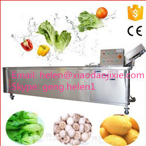 Bubble Fruit and Vegetable Washing Machine pictures & photos