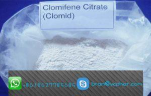 Safe & Effective Anti-Estrogen Steroid Clomifene Citrate Clomid CAS: 50-41-9 pictures & photos