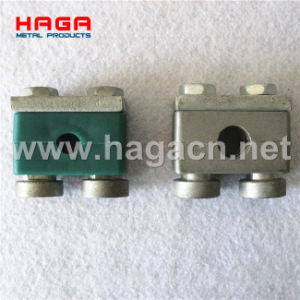 Plastic Aluminum Heavy Duty Round Plate Htdraulic Tube Clamp pictures & photos