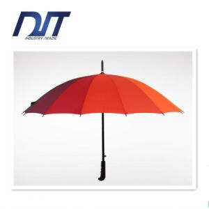 Any Color Available Plain Straight Rod Umbrella Umbrella Handle Gift pictures & photos