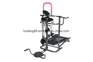 Multifunction Manual Treadmil pictures & photos