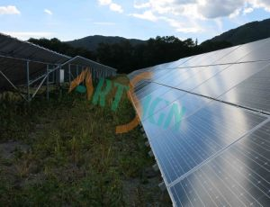 Solar Module Supporting Steel Structure for Photovoltaic Solar Power Plant pictures & photos