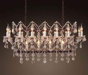 Rococo Style Crystal Chandelier Lamp (WHG-649) pictures & photos