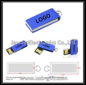 Full Capacity 8GB Mini Metal Swivel USB Flash Key Drive
