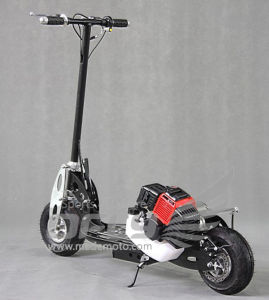 43CC CE Approved Foldable Gas Scooter with Steel Board pictures & photos