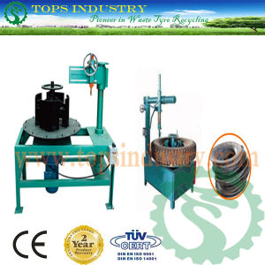 Waste Tire Side Wall Cutting Machine / Tire Sidewall Cutter / Tire Crown Cutter / Tire Disassembly Machine / Tyre Bead Cutter/ Tire Bead Cutting Machine pictures & photos