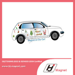 Hot Sale Rubber Magnet on Fridge with Customer Design pictures & photos