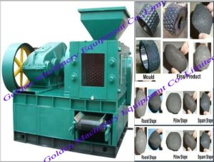 Coal and Charcoal Briquette Ball Press Briquetting Making Machine pictures & photos
