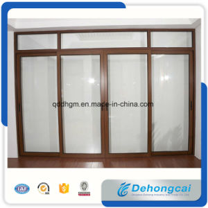 New Design Double Glazed Aluminum Door pictures & photos