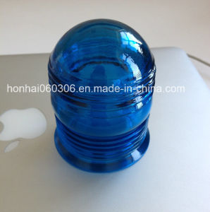 Colored Glass Signal Lamp Light Cover for Fire Hydrant (blue) pictures & photos