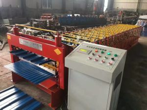 R Panel and Ibr Double Layer Roof Panel Roll Forming Machine pictures & photos