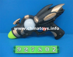 Hot Selling New Plastic Toys B/O Sound Gun (927802) pictures & photos