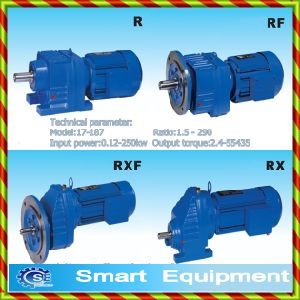 R Helical Gear Reducer / Shaft Mounted Gear Reducer