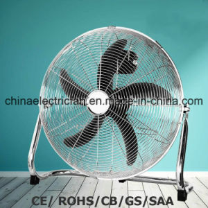 "New Design Plastic Blade 18"" Industrial Floor Fan 80W SAA/Ce pictures & photos"