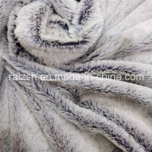100% Polyester Embossed PV Fleece Clothing and Home Textile Fabric