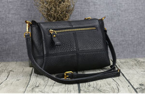 Fashion Ladies Handbags, Leather Cowhide Leisure Bag pictures & photos
