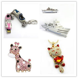USB Flash Drive Wholesale Crystal Sports Shoes USB Flash Disk Giraffe USB Stick Cat USB Flash Card Memory Stick USB Flash Pen drive pictures & photos