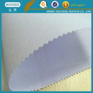 Stiff Woven Fusible Polyester Interlining for Waistband pictures & photos