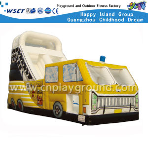 Outdoor Water Park Car Shape Inflatable Slide (HD-9405) pictures & photos