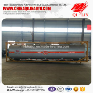Utility 3 Axles Framework Tanker Semi Trailer for Sale pictures & photos